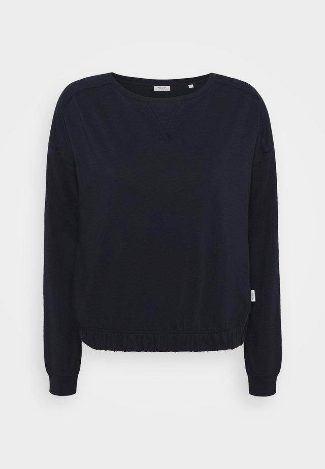 LONGSLEEVE ROUNDNECK - Maglietta a manica lunga - scandinavian blue