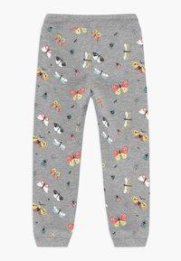 Blue Seven - KIDS BUTTERFLIES - Pantalon de survêtement - mittelgrau - 1