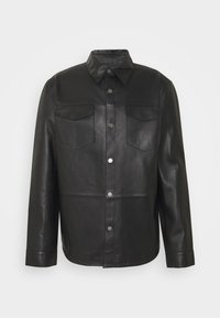 STUDIO ID - LEONARDOS - Leather jacket - black - 4