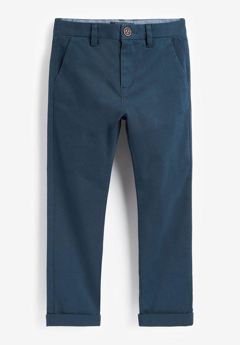 Next - KHAKI CHINO TROUSERS (3-16YRS) - Chino kalhoty - blue