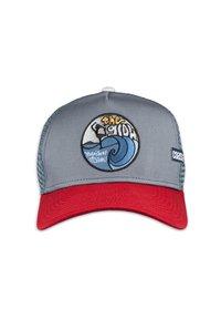 Coastal - Cap - red/grey - 1