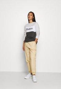 Hollister Co. - FASHION CREW - Sweatshirt - grey/white - 1