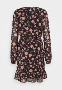 Vero Moda Petite - VMICY SHORT DRESS - Day dress - black - 1