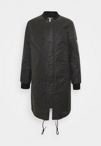 Brixtol Textiles - D.W BOMBER - Krátký kabát - grey - 0