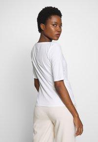 mine to five TOM TAILOR - BOATNECK - Basic T-shirt - white - 2
