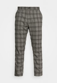 OXFORD - Trousers - charcoal check