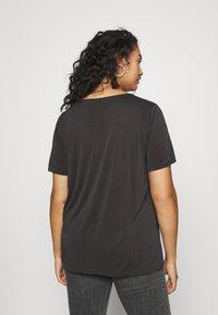 Zizzi - XFRITTI - Basic T-shirt - phantom - 2