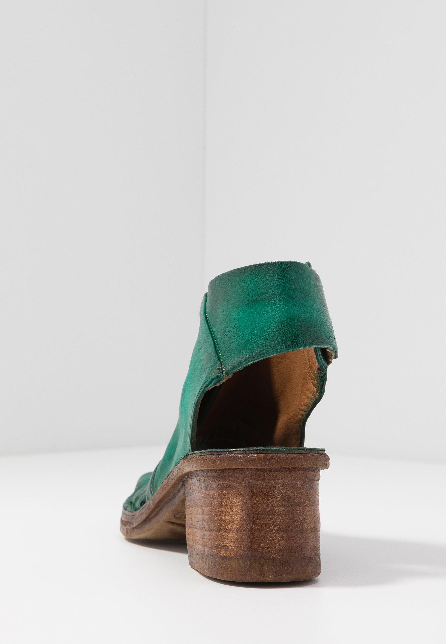A.s.98 Sandaler M/ Skaft - Emerald