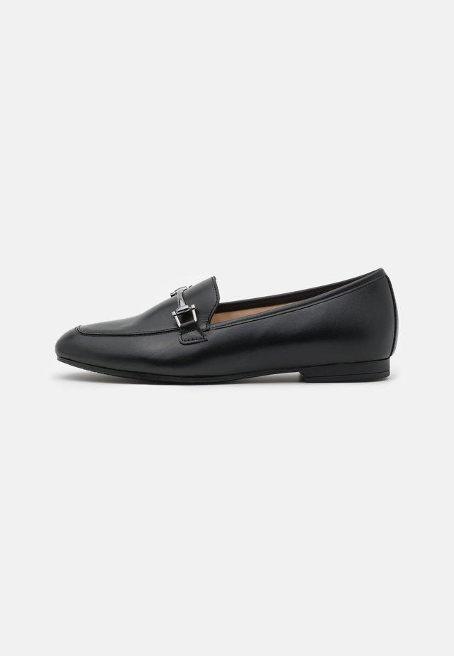 Scarpe senza lacci - schwarz/altsilber