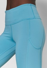 Nike Performance - EPIC LUXE - Tights - cerulean/reflective silver - 3