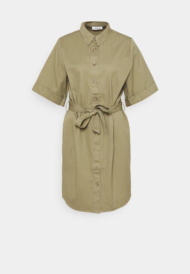 IVETTE DRESS - Shirt dress - light khaki
