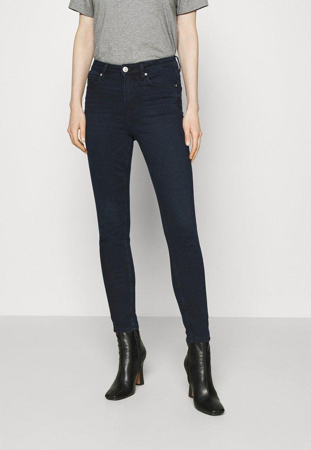 IVY SKINNY - Jeans Skinny Fit - dark-blue denim