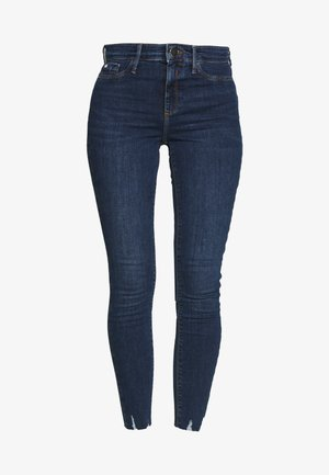 MOLLY  - Jeans Skinny Fit - dark blue denim