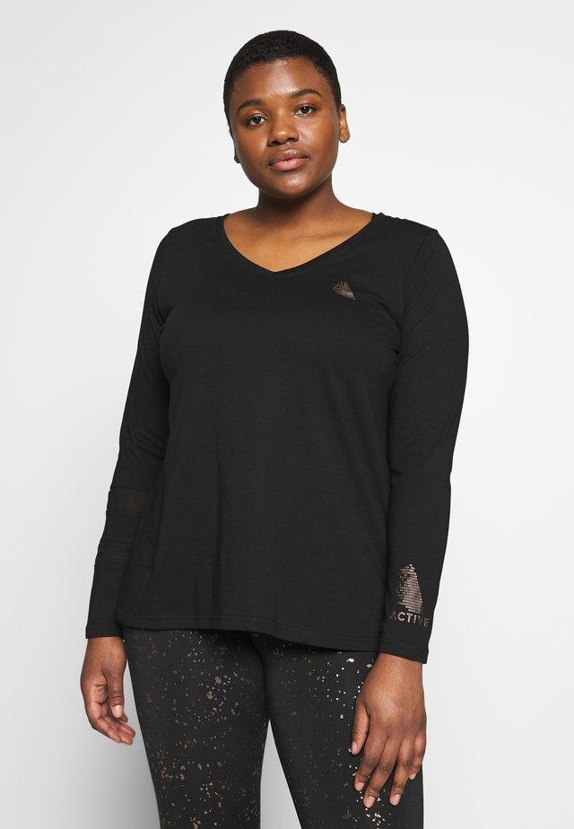 ASISU  - T-shirt de sport - black