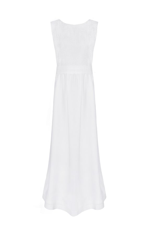 MARLENE - Maxi dress - weiß