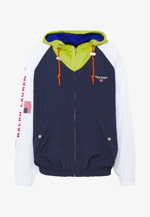 Summer jacket - navy/ white