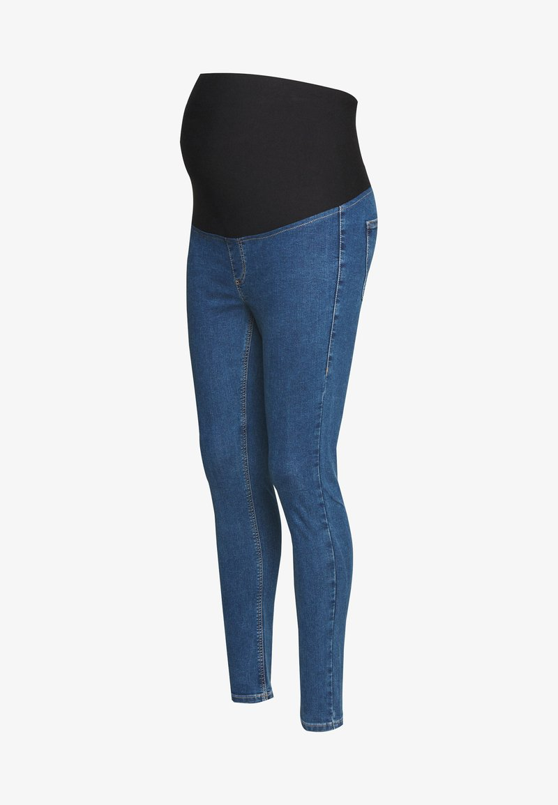 Topshop Maternity - JONI CLEAN - Jeans Skinny Fit - blue denim