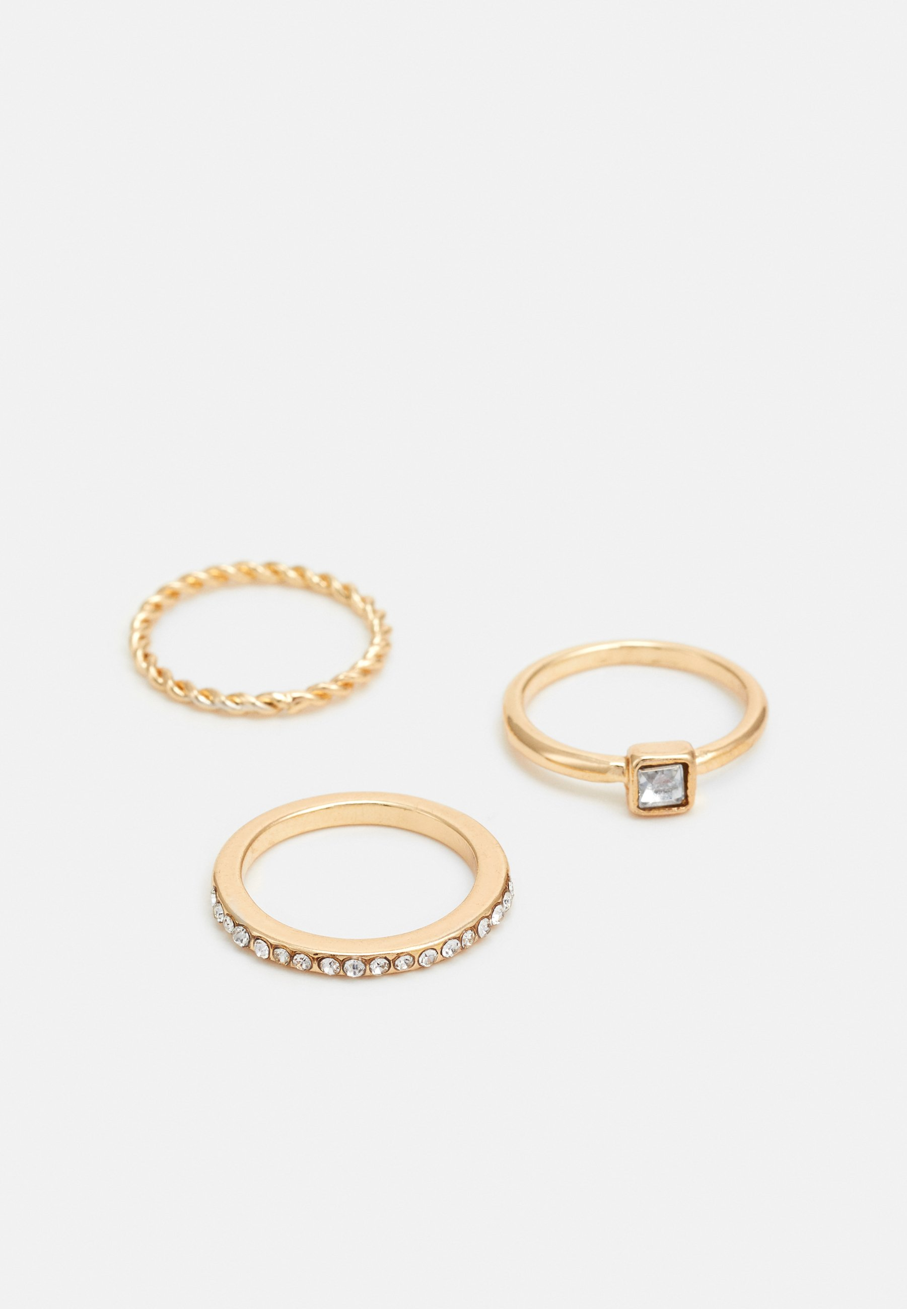 sweet deluxe FOR EVERY FINGER 6 PACK - Ring - gold-coloured/gull 0awH3cgs0hSW0MV