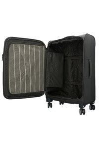 Hardware - SKYLINE - Wheeled suitcase - ivy dark blue - 3
