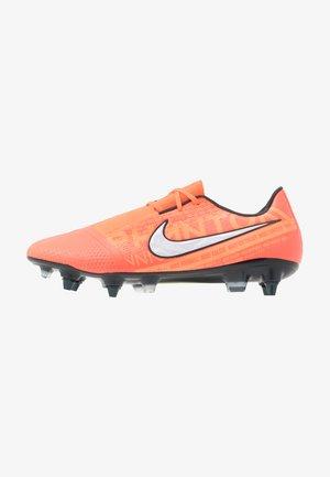 PHANTOM ELITE SG-PRO AC - Screw-in stud football boots - bright mango/white/orange pulse/anthracite