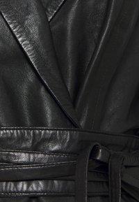 Ibana - EXCLUSIVE DAILY - Robe chemise - black - 2