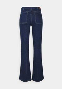 Polo Ralph Lauren - RYNNE WASH - Flared Jeans - dark indigo - 1