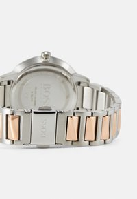 BOSS - SIGNATURE - Hodinky - silver-coloured/rose gold-coloured - 1
