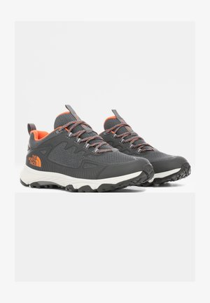 M ULTRA FASTPACK IV FUTURELIGHT - Hiking shoes - zinc grey/persian orange