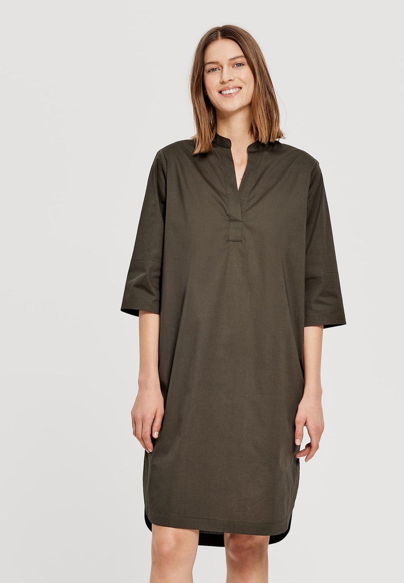 Opus - Day dress - olive
