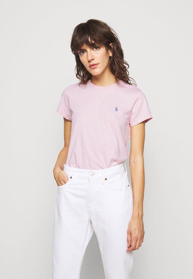 Jednoduché triko - garden pink