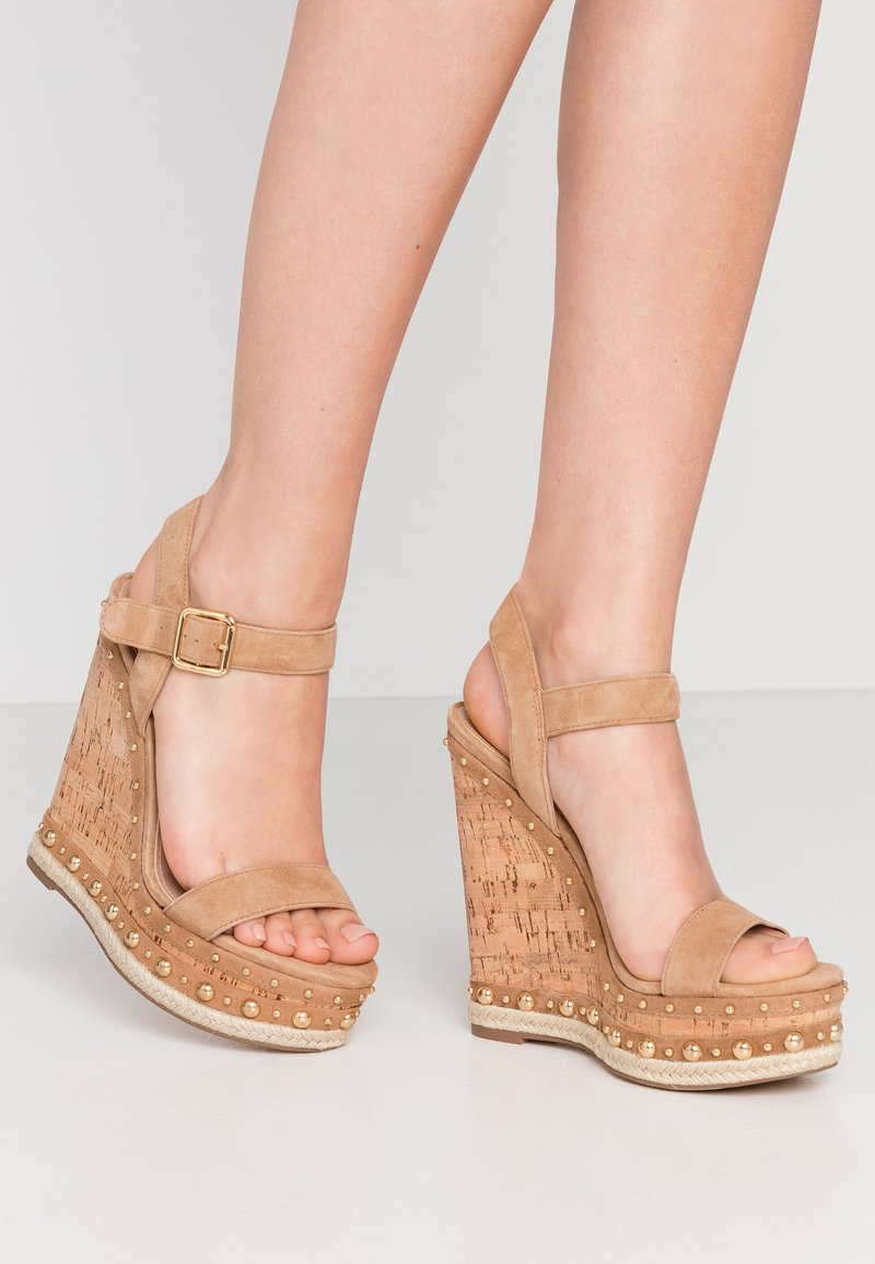 Steve Madden - MAURISA - High heeled sandals - tan