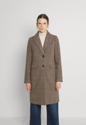 VMBLAST CHECK LONG - Klasický kabát - tan