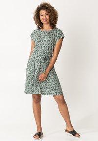Indiska - Day dress - green - 0