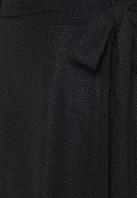 Lauren Ralph Lauren - DERBY METALLIC DRESS - Neulemekko - black - 5