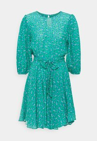 Mavi - LONG SLEEVE - Day dress - holly green print - 0