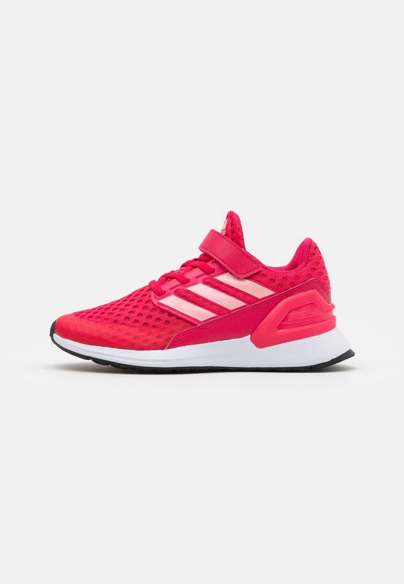 adidas Performance - RAPIDARUN UNISEX - Neutral running shoes - power pink/glory pink/core black