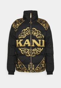 Karl Kani - RETRO REVERSIBLE PUFFER JACKET UNISEX  - Light jacket - black - 5