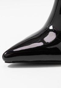 BEBO - ELEXIS - Ankelboots med høye hæler - black - 2