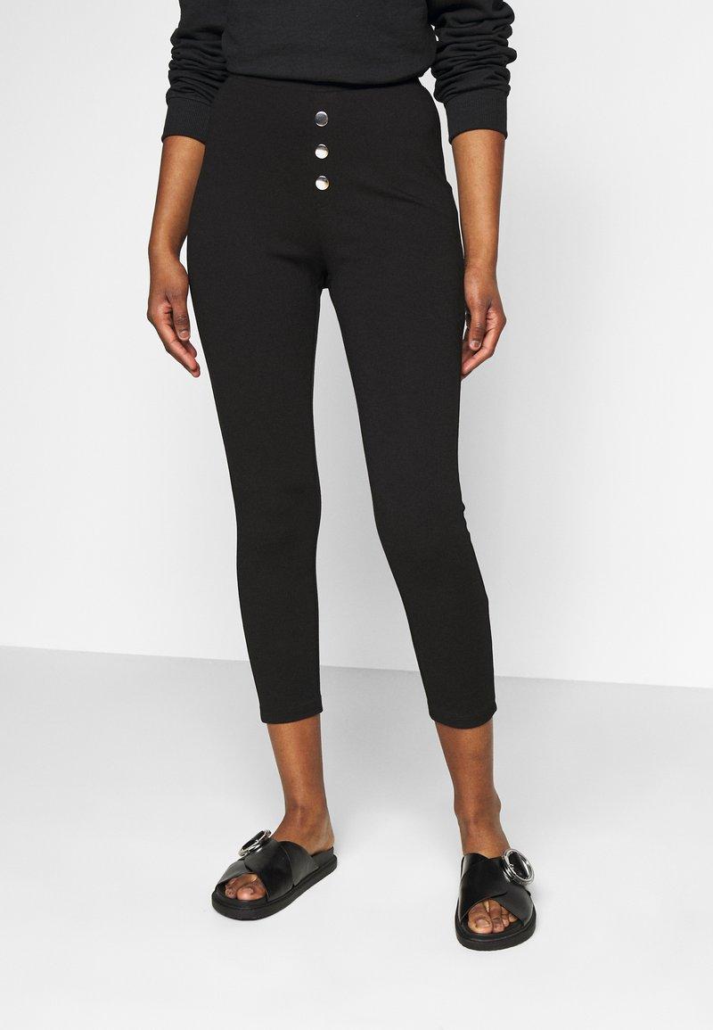 Even&Odd Petite - Leggings - Trousers - black