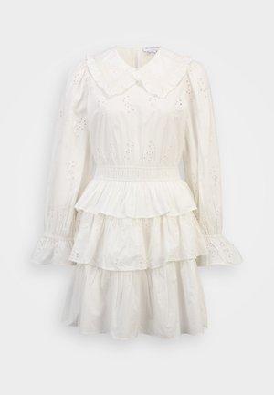 HALLIE MINI DRESS - Jurk - white