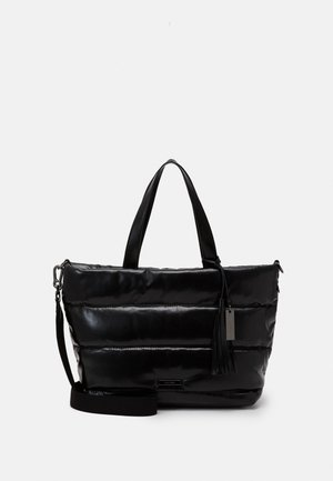 LABEL SHELLEY - Shopping bags - black