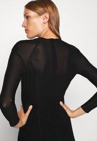 Calvin Klein Jeans - DOUBLE LAYER DRESS - Day dress - black - 4