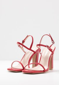 RAID Wide Fit - WIDE FIT SILVINA - Sandaletter - red - 4