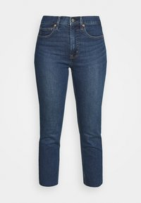 GAP Petite - CIGARETTE GLYDE - Slim fit jeans - dark indigo - 3