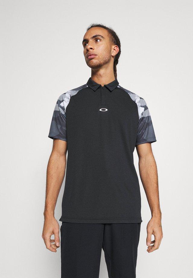 CHIPSHOT CAMO - T-shirt sportiva - blackout