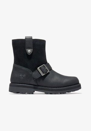 COURMA  - Cowboy/biker ankle boot - jet black