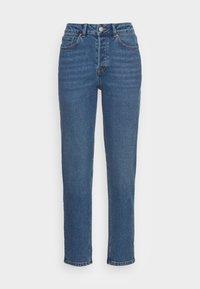 TOM TAILOR DENIM - MOM FIT - Jeans a sigaretta - mid stone bright blue denim - 3