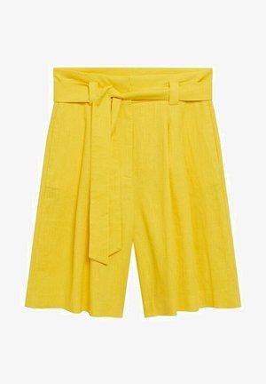Shorts - geel