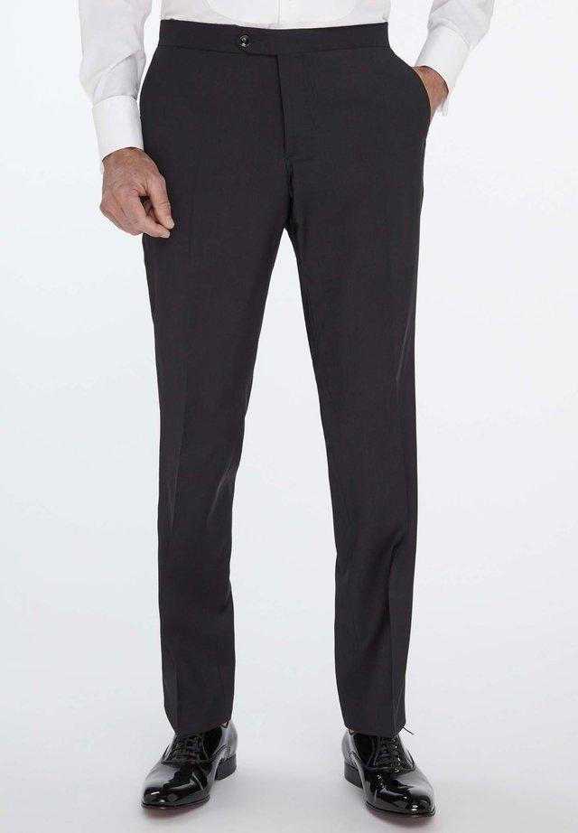 BUCK - Suit trousers - black