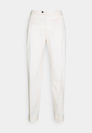 TREVOR - Trousers - pure white